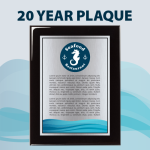 20 Year Plaque 20 Year Plaque