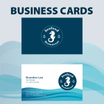 Business Cards Seafood Company
